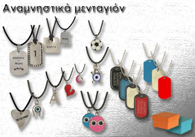 Dog tags and necklaces